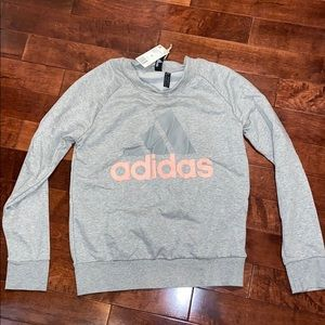 Gray Adidas Sweatshirt